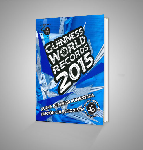 Guinness world records 2015 Urrike liburudenda