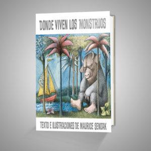 DONDE VIVEN LOS MONSTRUOS Urrike liburudenda