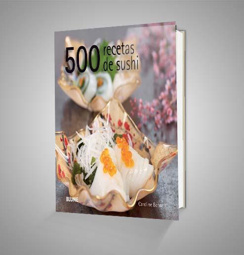 500 RECETAS DE SUSHI Urrike liburudenda